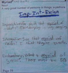 good essay vocab words