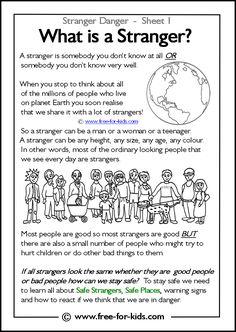 free-for-kids stranger safety - Google Search