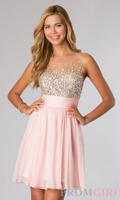 Prom Dresses, Celebrity Dresses, Sexy Evening Gowns - PromGirl: Short Sleeveless JVN by Jovani Dress