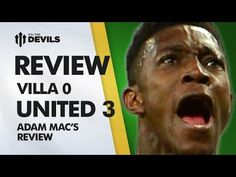 Top 8 Here We Come! | Aston Villa 0-3 Manchester United | REVIEW - YouTube