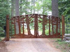 Pine Tree Gate...who knew researching gate posts could be so entertaining