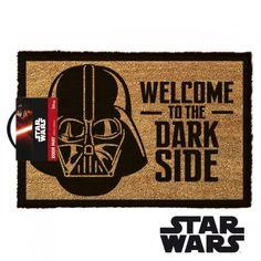 Paillasson Star Wars Dark Vador - Welcome to the Dark Side sur Logeekdesign.com