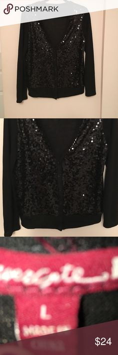 Sequined Button Down Sweater Sequined Button Down Sweater. Lightweight and very comfortably but still super stylish! Like new condition! Sweaters