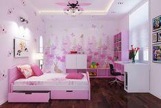 thiết-kế-nội-thất-phòng-ngủ-bé-gái