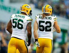 Green Bay Packers. ..Peppers and Matthews!