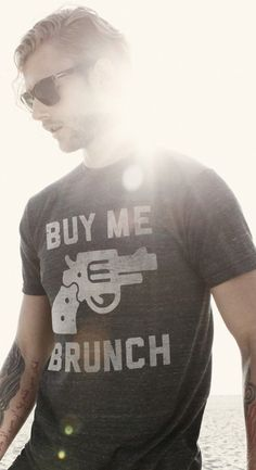 Buy Me Brunch graphic tees available at KIE