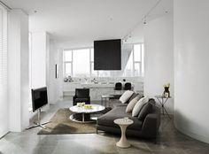 Minotti hamilton wide angle sofa