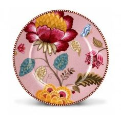 Jetzt wird´s fantastisch blumig! Tanzende Blumen und ein tolles Farbspiel machen die Fantasy-Kollektion von Pip Studio zu etwas ganz Besonderem. Bezaubernde Details wie Blumenmeere und Schmetterlinge, kombiniert mit ausdruckstarken Farben auf einem fein gemusterten Hintergrund machen die Geschirr-Serie von Pip Studio zu einem wahren Kunstwerk. Mit der Serie Fantasy schaffen Sie sich zu jeder Tageszeit ein farbenfrohes Ambiente. Dieser wunderschöne Teller sollte auf keinem liebevoll gedeckten…