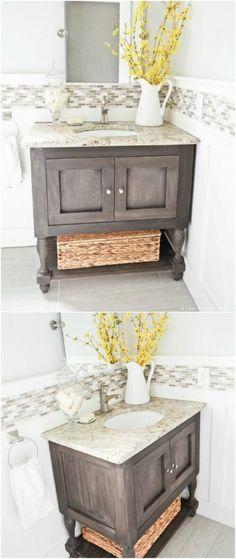 Bathroom Vanities Quad Cities how to make a dresser into a vanity {tutorial} | quad cities