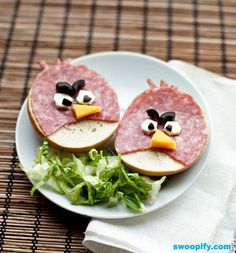 Delicious Angry Birds #humor #lol #funny, too funny, my parents told me never to play with my food! LMAO!