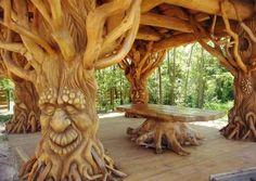 Fantasy Tree gazebo                                                                                                                                                                                 More