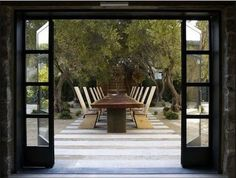 Maisonry in Yountville, a design/wine/art gallery with an outdoor tasting patio and gardens.