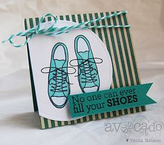 @Tenia Nelson created this super cute card using our new You Rule! Stamp set!