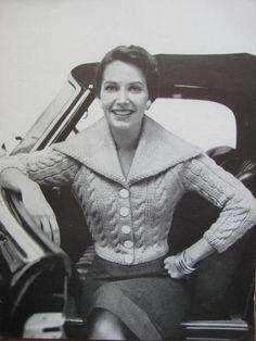 1950's Vintage Knitting Pattern PDF Women's by vintageknitcrochet, $3.00