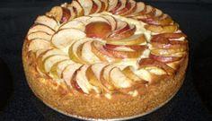 Gâteau bavarois aux pommes et fromage #recettesduqc #dessert