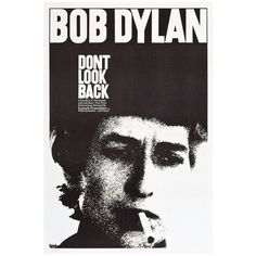 Posterazzi DonT Look Back Bob Dylan 1967 Movie Poster ...