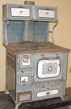 old wood cooking stoves | Antique Home Comfort Wood Cook Stoves are original stoves manufactured ...