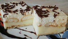 Kremes yogurt with biscuit Cheesecakes, Yummy Treats, Tiramisu, Yogurt, Biscuits, Food And Drink, Baking, Ethnic Recipes, Tray Bakes