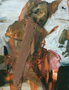 Stories Undone In this body of work, I use my works on paper as references to make the oil paintings. I think of this process as an act of un-doing of the stories that were created with the water...