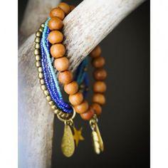Sieraad armband Sandalwood - Good Chicks