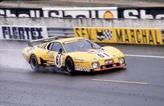24h du Mans 1979 n°61 Beurlys Ferrari 512 BB LM