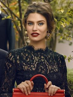 Bianca Balti, Italian model for DOLCE & GABBANA | via www.orientsystem.com