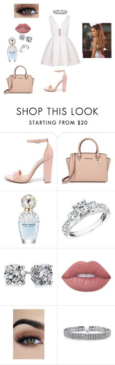 """""""Untitled #43"""" by maddiefaith1 ❤ liked on Polyvore featuring Steve Madden, Michael Kors, Marc Jacobs, Reeds Jewelers, Blue Nile, Lime Crime and Bling Jewelry"""