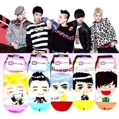 Big Bang- Kpop is awesome. You can even get socks of the guys ;-)