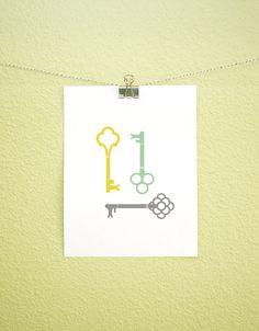skeleton key printable // see that there blog.
