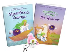 Magelica's Voyage and The Rescue. A beautiful series to empower young girls. Book Series, Book 1, Book Reviews For Kids, Beautiful Series, Kids Lighting, Positive Messages, Book Girl, Perfect Christmas Gifts, Chapter Books