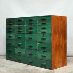 Factory cabinet, 1950s
