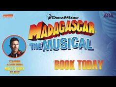 Madagascar The Musical tour will soon open in Wimbledon. I took a sneak peek at rehearsals and had a chat with Matt Terry who is playing Alex the Lion. Wimbledon, Madagascar, Theatre, Musicals, Lion, Interview, Day, Books, Livros