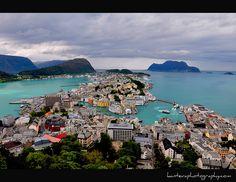 Alesund,Norway by kantevaphotography via Flickr