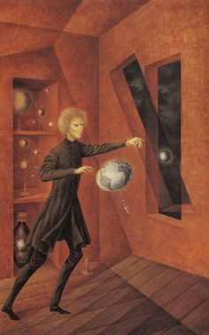 Phenomenon of Weightlessness - Varo, Remedios (Spanish, 1908 - Fine Art Reproductions, Oil Painting Reproductions - Art for Sale at Galerie Dada Salvador Dali, Art Du Monde, Psy Art, Surrealism Painting, Magic Realism, Oil Painting Reproductions, Visionary Art, Psychedelic Art, Surreal Art