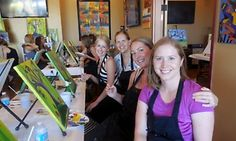 Groupon - Painting Events with Paintings to Take Home for One, Two, or Four at Cheers Pablo in Chicago (Up to 46% Off)   in Multiple Locations. Groupon deal price: $25