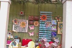 pallet garden art