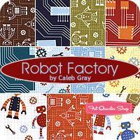@Sabrina Nobile check out the Robert Kaufman fabrics here...Robots, Dr. Seuss...