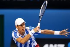 Tomas Berdych, SF, 23 January 2014. - Getty Images