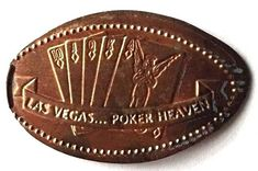 Elongated Penny Coin - LAS VEGAS POKER HEAVEN