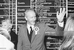 Rhodesian Prime Minister ian Smith smiles and waves as his Rhodesian Front Party wins a parliamentary election. Ian Smith, Parliamentary Elections, Smile And Wave, Prime Minister, Old And New, Southern, Africa, Waves, Memories