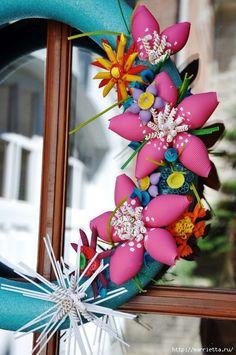 Handmade-kursy ,wzory ,tutoriale: Pomysły na ozdoby z makaronu
