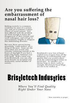 Nasal hair loss
