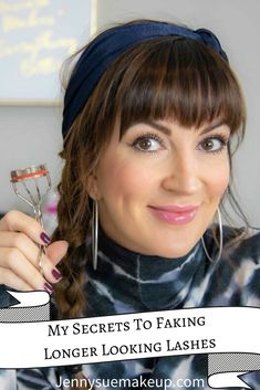 These are my favorite secrets to get longer looking lashes without lash extensions or false eyelashes. Eyelash Serum, Eyelash Curler, Long Lashes, False Lashes, Eyelashes, Best Lashes, Best Mascara, Lash Extensions Cost