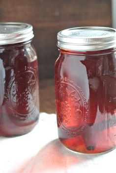 Apple Pie Moonshine Recipe by Wanna Be A Country Cleaver on bakedbyrachel.com