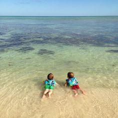 Tankah Bay in front of Casa Rosa ...sweet!!!