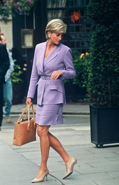 """July 4, 1997: Diana, Princess of Wales leaving """"The Square"""" Restaurant in New York City, New York."""