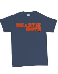 Beastie Boys Fader Logo Mens T-Shirt - Guaranteed Authentic.  Fast Shipping.