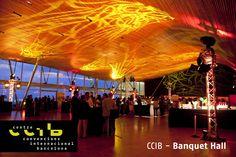 Banquet Hall at the CCIB, Barcelona.  http://www.ccib.es/home