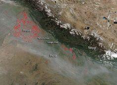 Dym nad Indiou