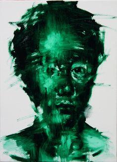 KwagHo-Shin. [36] untitled oil on canvas, 2013, 33 x 24cm.